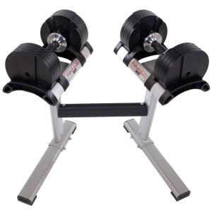 Finnlo Maximum Smartlock kézi súlyzószett állvánnyal 40kg