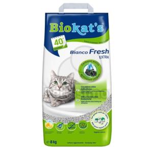 GIMPET Biokat's Bianco Fresh Extra aktív szénnel 8 kg