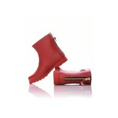 Dorko Red Color Ankle Boot With Zipper [méret: 40]