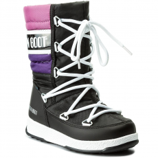 Moon Boot Hótaposó MOON BOOT - We Quilted Jr Wp 34051500003 Nero/Viola/Orchidea