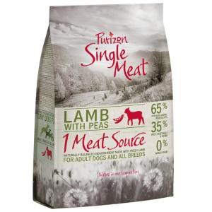 Purizon Single Meat 2x12kg Purizon Single Meat Adult bárány & borsó - gabonamentes száraz kutyatáp