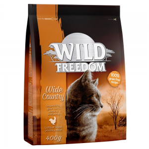 Wild Freedom 3x2kg Wild Freedom Adult 'Wide Country' - szárnyas száraz macskatáp
