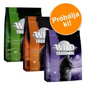 Wild Freedom vegyes csomag - 4 x 2kg: szárnyas, lazac, kacsa & bárány