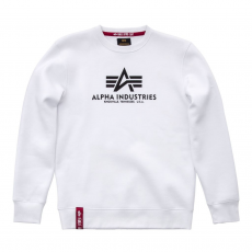 Alpha Indsutries Basic Sweater - fehér