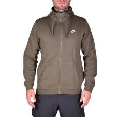 Nike M Nsw Hoodie Fz Flc Club férfi kapucnis cipzáras pulóver keki XXL