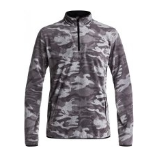 Quiksilver Aker Hz Fleece M Otlr Kvj9 Black Grey Camokazi S