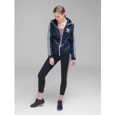 Adidas Europa Tp női cipzáras pulóver kék M
