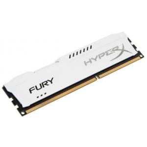 Kingston 8GB/1600MHz DDR-3 HyperX FURY fehér (HX316C10FW/8) memória