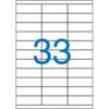 Nebuló Etikett, univerzális, 70x25,4 mm, VICTORIA, 3300 etikett/csomag