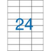 Nebuló Etikett, univerzális, 70x37 mm, VICTORIA, 2400 etikett/csomag