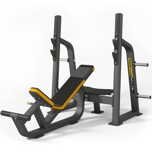 Vector Fitness döntött fekvenyomó pad súlytárcsa tartóval