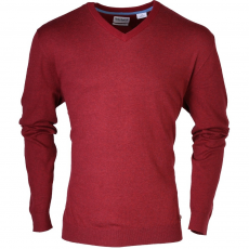 TIMBERLAND Eastham V-Neck Sweater Pulóver,sweatshirt D (OYH1P-r_TR7-Jester Red)