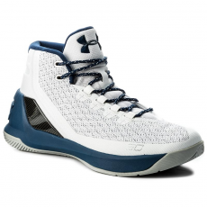 Under Armour Cipő UNDER ARMOUR - Ua Curry 3 1269279-105 Wht/Btn/Msv