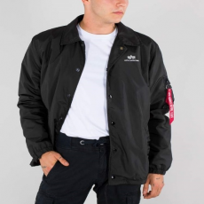 Alpha Industries COACH JACKET CW - fekete