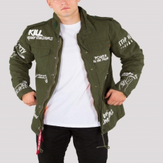 Alpha Industries M-65 Freedom - olive