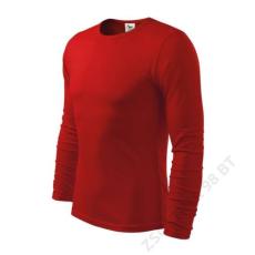 ADLER Fit-T Long Sleeve ADLER pólók férfi, piros