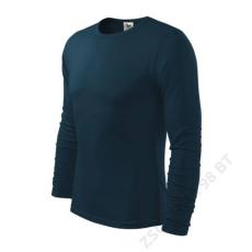 ADLER Fit-T Long Sleeve ADLER pólók férfi, tengerkék