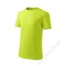 ADLER Classic New ADLER pólók gyerek, lime szin
