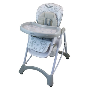 BABY MIX Etetőszék Baby Mix light grey | Szürke |