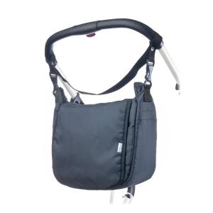 Pelenkázó táska CARETERO - graphit | Szürke |