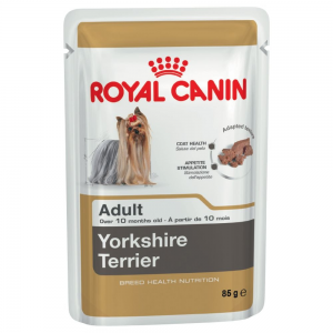 Royal Canin Breed 12x85g Royal Canin Breed Yorkshire Terrier nedves kutyatáp