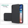 Nillkin Apple iPhone X hátlap képernyővédő fóliával - Nillkin Frosted Shield - fekete