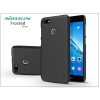 Nillkin Huawei P9 Lite Mini hátlap képernyővédő fóliával - Nillkin Frosted Shield - fekete