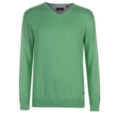 Pierre Cardin V Neck férfi pulóver - Pierre Cardin C V Neck Knit Green