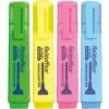 """FLEXOFFICE Szövegkiemelő, 4,0 mm, FLEXOFFICE """"HL05"""", 4 különböző szín"""