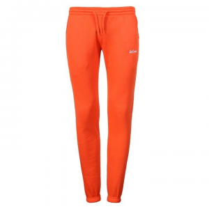 Lee Cooper Lee Cooper női melegítőnadrág - Lee Cooper Slim Joggers Ladies Orange