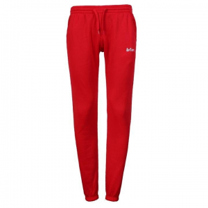 Lee Cooper Lee Cooper női melegítőnadrág - Lee Cooper Slim Joggers Ladies Red