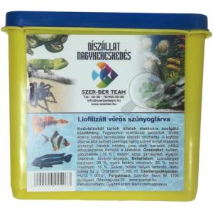 Szer-Ber liofilizált vörös szúnyoglárva 1l