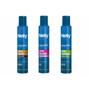 Aqua Nelly fixáló hab göndör hajra, 250 ml