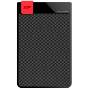 Silicon Power External HDD Silicon Power Diamond D30 1TB USB 3.0, ultra-slim 7mm, IPX4, Black