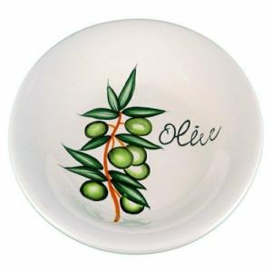 egyéb Kerámia tányér olívás 11130
