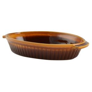 Perfect home 13703 Agyag római sütőtál óvális mázas 1 literes