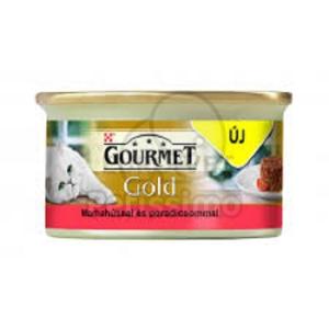 Gourmet Gold konzerves eledel marhahússal és paradicsommal 85 g