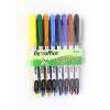 """FLEXOFFICE Tűfilc készlet, 0,3 mm, FLEXOFFICE """"FL01"""", 8 különböző szín (FOFL01V8)"""