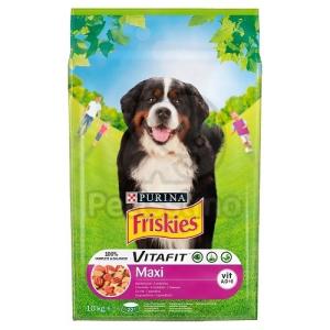 Friskies száraz kutyaeledel - Maxi marhával 10 kg