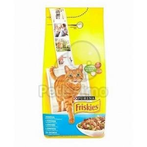 Friskies száraz macskaeledel - lazaccal és zöldségekkel 10 kg