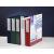 Pp Gyűrűskönyv -5-131- A4 40mm 4 gyűrűs Panorámás Fehér 10db/csom PP