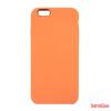 CELLECT Premium szilikon tok, iPhone 8 / 7, Narancs
