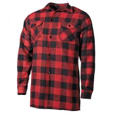 FOX OUTDOOR Lumberjack - Piros/Fekete - 3XL