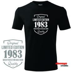 Férfi póló ünnepelteknek - LIMITED EDITION + születési év saját kérés szerint
