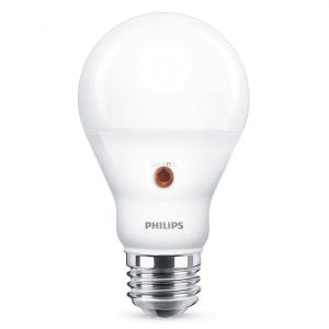 Philips Sensor LED 7,5W 827 E27 WW 2700K LED fényérzékelő szenzorral