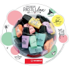 "STABILO Szövegkiemelő, display, STABILO, ""Boss Mini Pastellove Bonbon Glass"", 50 db-os"