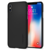 Spigen iPhone X Thin Fit hátlap, tok, fekete