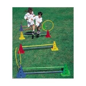 Tactic Sport Aktív játék mozgásfejlesztő eszközpark Saltarello Maxi 50 cm magas kerekaljú lukas bójá