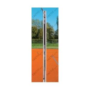 Röplabda hálótartó oszlopok profi, 80x80mm aluminium TÜV