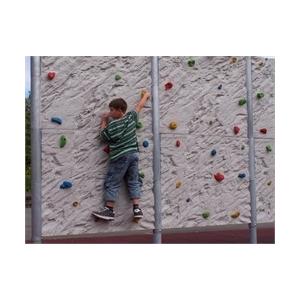 Természetes sziklás felületű mászófal 2 elemes